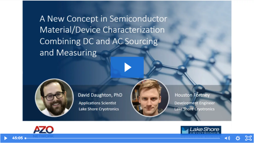 Webinar New Source Measure for Semiconductor Characterization