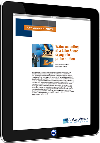 Wafer mounting app note