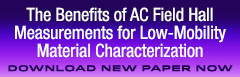 Download our free AC Hall for low mobility measurements paper